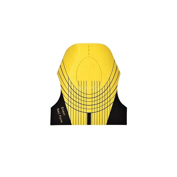 Sjablonger gul 500stk